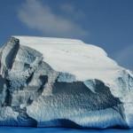 Styropor Modell - Eisberg