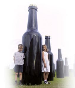 GFK-flaschen