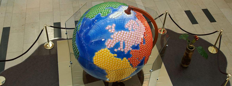 globus für die messe