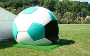 fussball haus