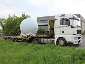 Kunststoffkugel Transport