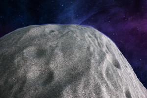 Asteroid Detail Steinfläche