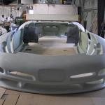 Corvette Carrosserie Herstellung