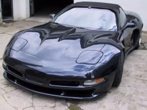 Corvette schwarz