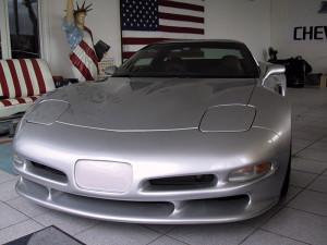 Corvette silber