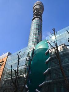 Fassaden-Elemente aus GFK im Zentrum Londons