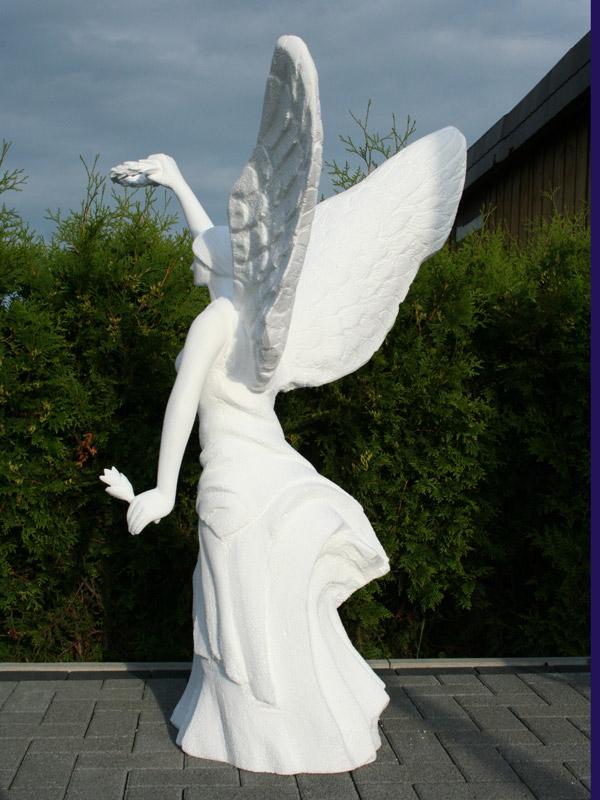 GFK Figur Styropor Engel