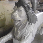Löwen laminieren