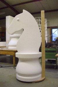 Styropor Pferd