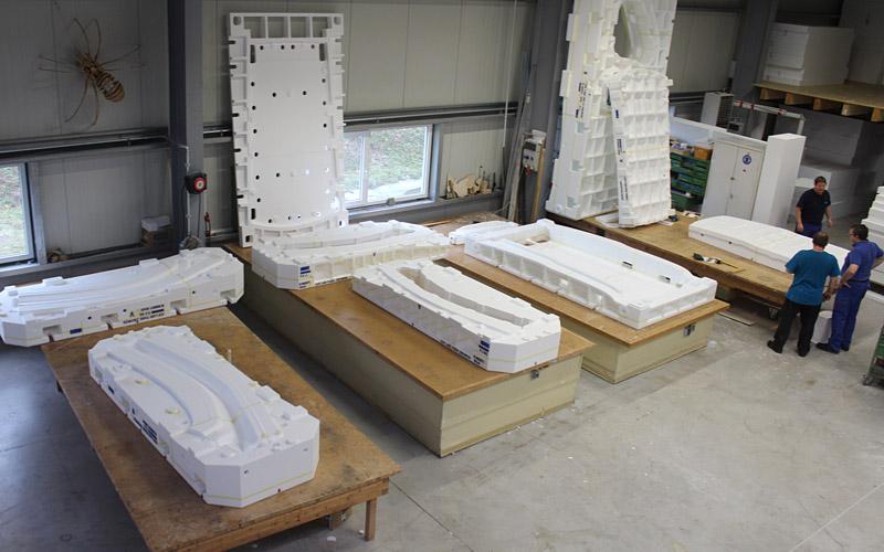 Gießereimodelle Styropor