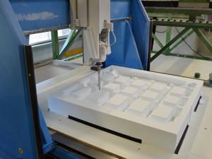 Fräse CNC Styropor