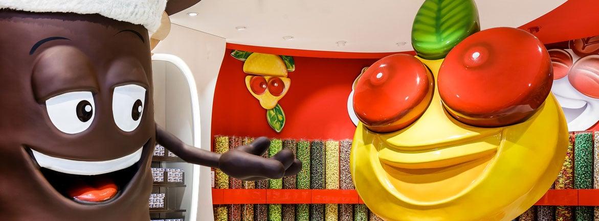 Banner - Werbefiguren aus Kunststoff