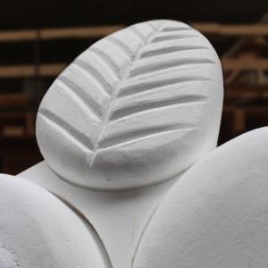 Detail Styropor Blatt