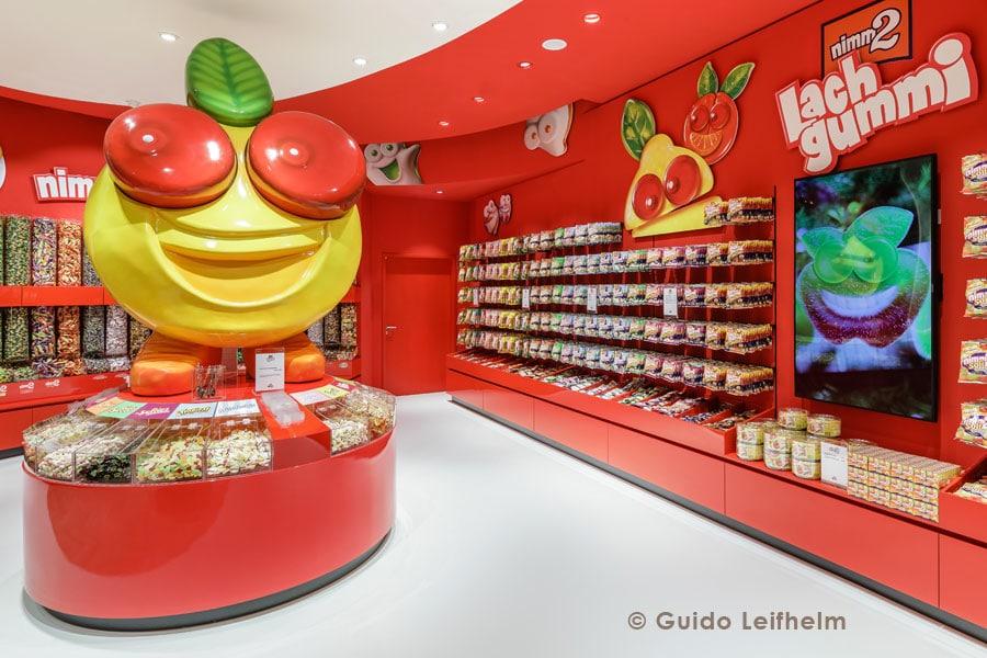 Lachgummi - Werbefigur aus Kunststoff