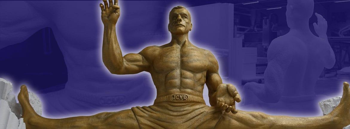 JCVD - Skulptur XXL