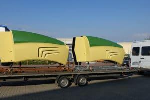 Auslieferung - Transport