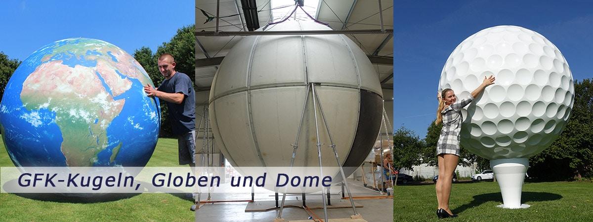 Slider-GFK-Kugeln-Dome