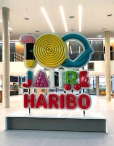 100 Jahre Haribo - Werbelogo aus GFK