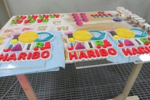 Haribo 100-Logos
