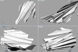 3D Modell - Kunstwerk