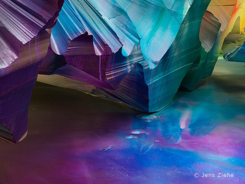 Kunstwerk - Katharina Grosse - Detail
