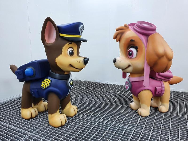 PAW Patrol Skulpturen