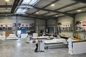 CNC- Bearbeitungszentren für Styropor